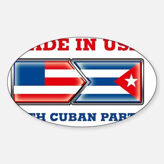 Made_In_USA_WCP_Dark Sticker (Oval)