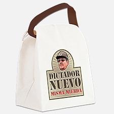DictadorNuevo_Dark Canvas Lunch Bag