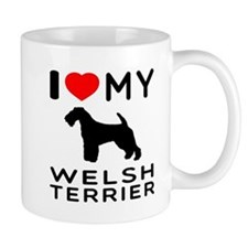 I love My Welsh Terrier Mug