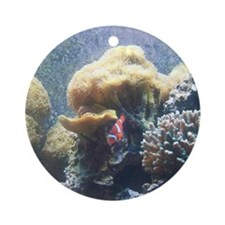 A Glimpse into the Ocean Round Ornament