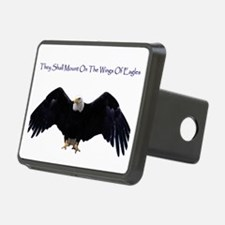 eagle wing spanhugetext Hitch Cover
