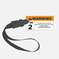 warning Luggage Tag