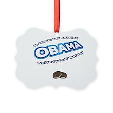 obama_oreo_dark Ornament