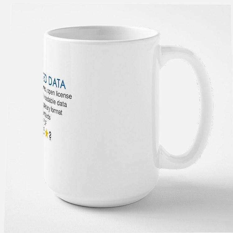 Five Star Linked Data Large Mug