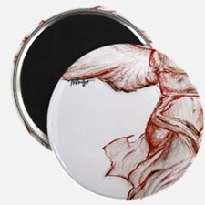 signed winged victory pin Magnet
