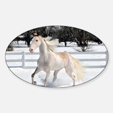 Horse_card Sticker (Oval)