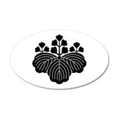Paulownia with 5/3 blooms Wall Decal