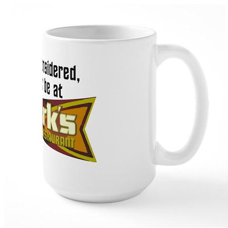 Id Rather Be At Quarks Large Mug