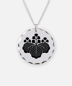 Paulownia with 5/3 blooms Necklace