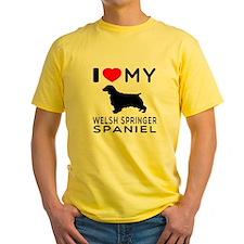 I love My Welsh Springer Spaniel T