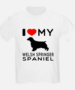 I love My Welsh Springer Spaniel T-Shirt