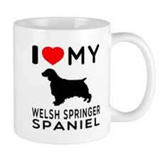 I love My Welsh Springer Spaniel Mug