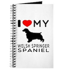 I love My Welsh Springer Spaniel Journal