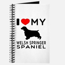 I love My Welsh Springer Spaniel Journal