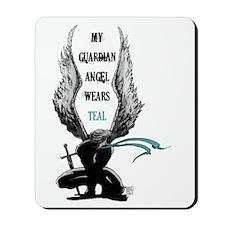 AngelWears_Teal-1 Mousepad