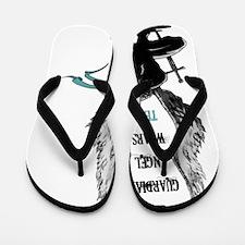 AngelWears_Teal-1 Flip Flops