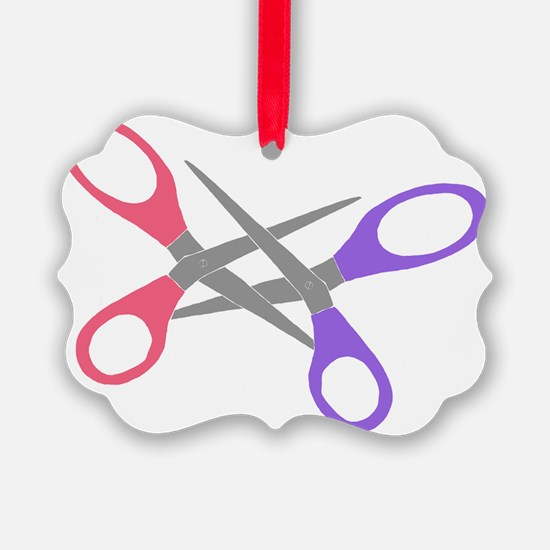 scissor-me Ornament