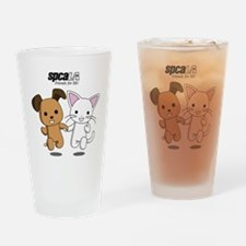 Friends for Life Drinking Glass