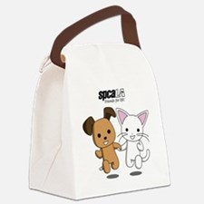 Friends for Life Canvas Lunch Bag
