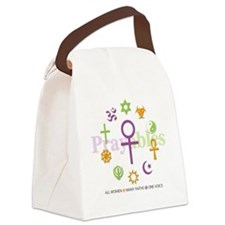 Faith Circle Prayables Canvas Lunch Bag