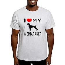 I love My Weimaraner T-Shirt