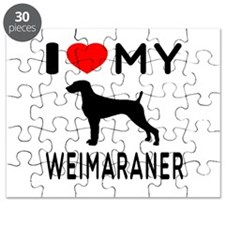I love My Weimaraner Puzzle
