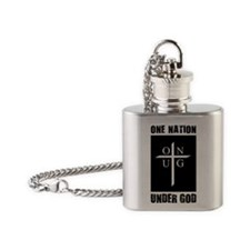 One_Nation Flask Necklace