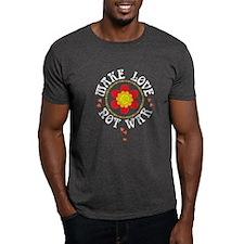 Retro Make Love Not War T-Shirt