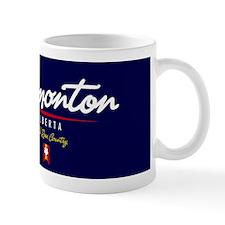 Edmonton Script Magnet Mug