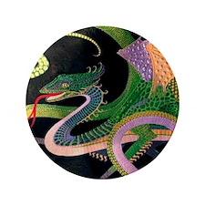 "(D) dragon tile - 4 ShopFront Prussian 3.5"" Button"
