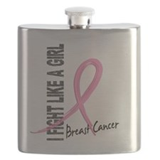 - Breast Cancer Fight Like a Girl Flask