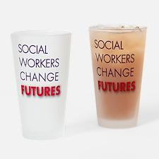 2011SWMLogo-JustWords Drinking Glass