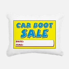car boot dt Rectangular Canvas Pillow