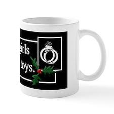 Naughty Girls Print Mug