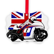 British Motorcycling Ornament