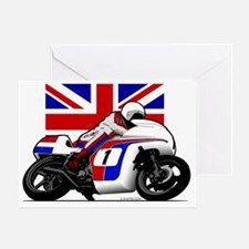 British Motorcycling Greeting Card