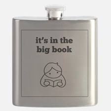 Big Book Flask