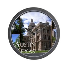Austin, Texas Wall Clock