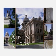 Austin, Texas Throw Blanket