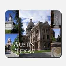 Austin, Texas Mousepad