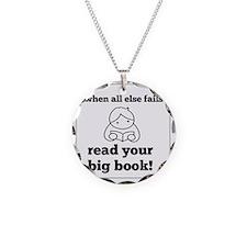 Big Book2 Necklace