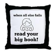 Big Book2 Throw Pillow