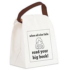 Big Book2 Canvas Lunch Bag