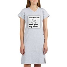 Big Book2 Women's Nightshirt