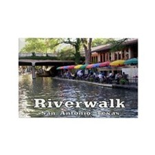 Riverwalk, San Antonio,TEXAS Rectangle Magnet