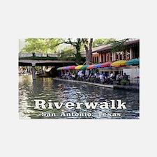 Riverwalk, San Antonio,TEXAS Rectangle Magnet