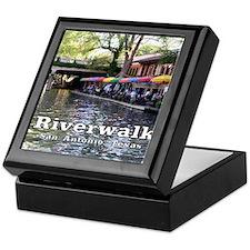 Riverwalk, San Antonio,TEXAS Keepsake Box