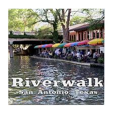 Riverwalk, San Antonio,TEXAS Tile Coaster