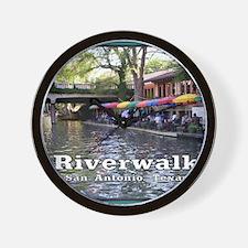 Riverwalk, San Antonio,TEXAS Wall Clock
