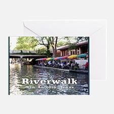 Riverwalk, San Antonio,TEXAS Greeting Card